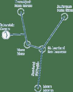 Anfahrt Eisturm Rabenstein