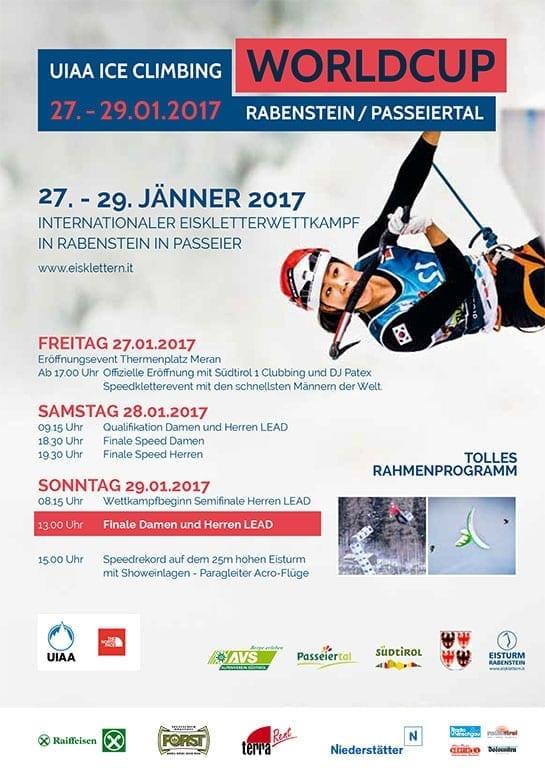 Worldcup Eisklettern 2017