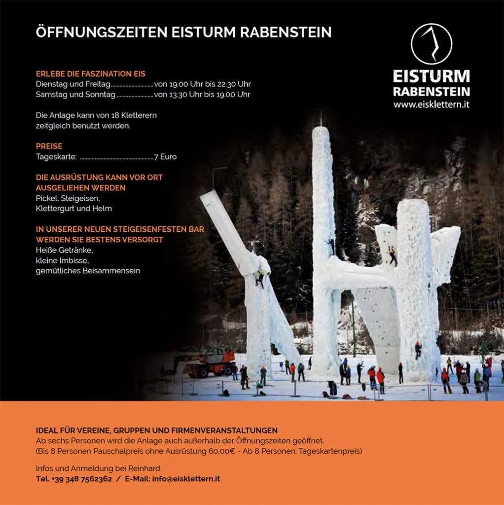 Öffnungszeiten Eisturm Rabenstein