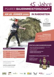 15 Jahre Bauernmeisterschaft
